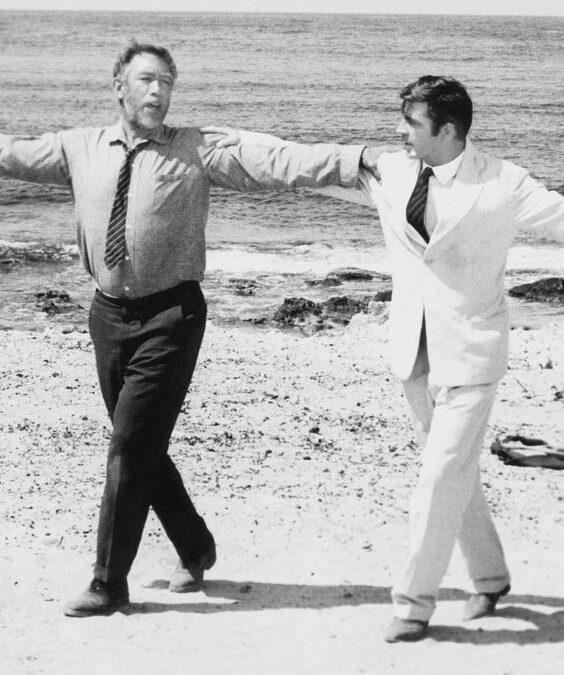 "Nikos Kazantzakis: ""Privindu-l pe Zorba dansând"""