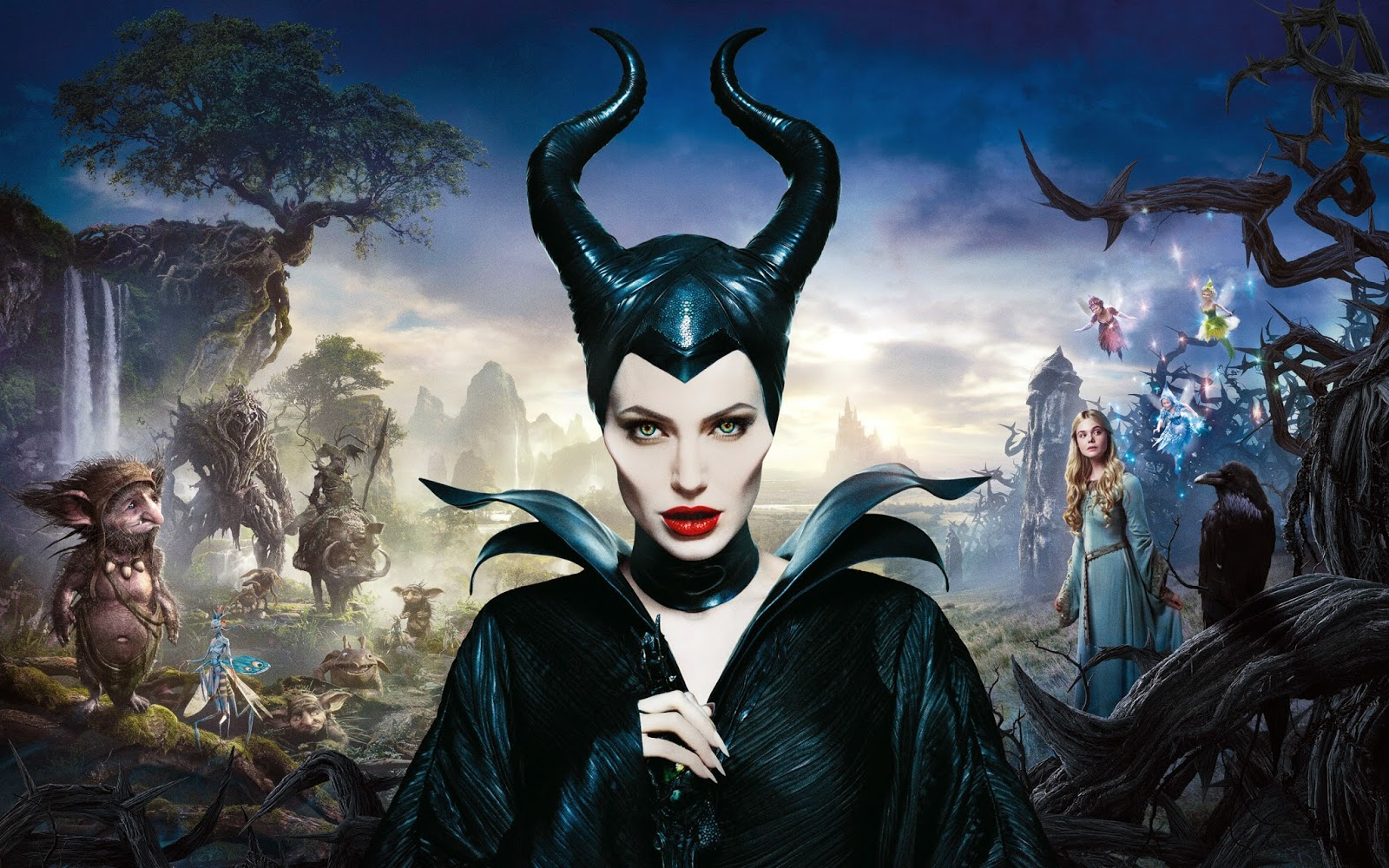 Maleficent Angelina