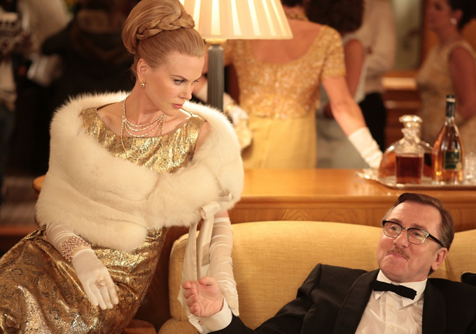 Grace, Princess of Monaco (Nicole Kidman), and Prince Ranier (Tim Roth) in a scene from Grace of Monaco directed by Olivier Dahan. Picture: SuppliedSource:Supplied