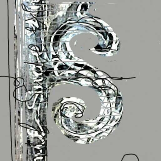Monogramă Exlibris de graficianul  Uca Maria Iov