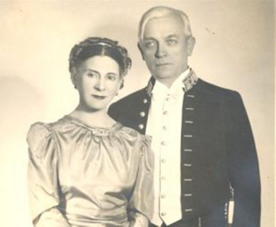 Liviu Rebreanu și Fanny Rădulescu