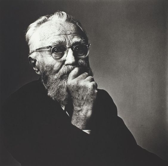 Irving Penn, April 9, 1959, fotografiat de Edward Steichen