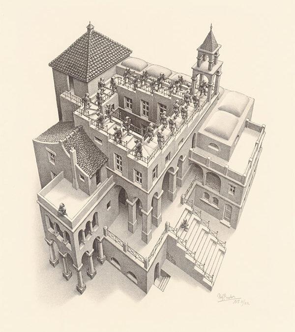 M.C.Escher – Numai cei care încearcă absurdul vor realiza imposibilul