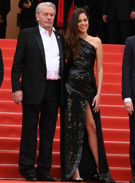 Alain delon și fiica lui, Anouchka Delon