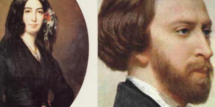 Mari iubiri: George Sand şi Alfred de Musset