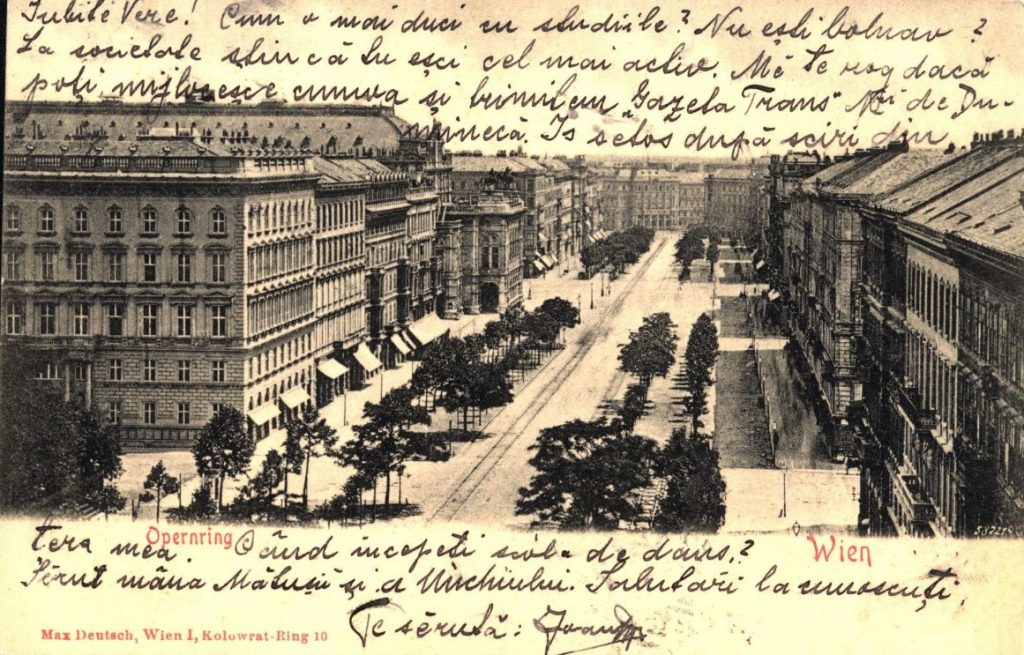 Viena 1902. Piața Operei