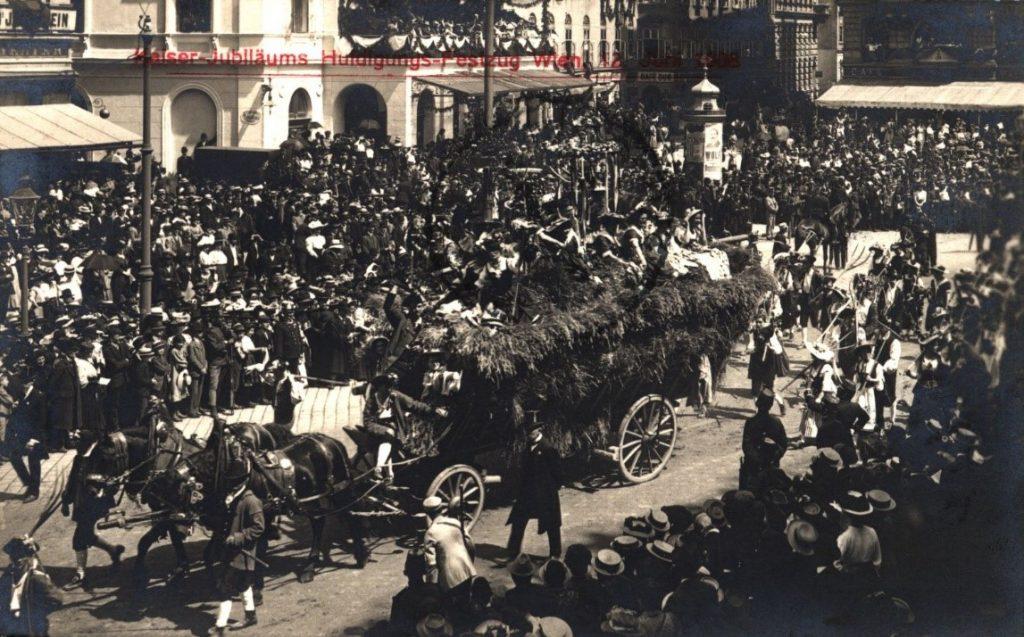 Viena, 12 iunie 1898, jubileul împăratului Franz Iosif