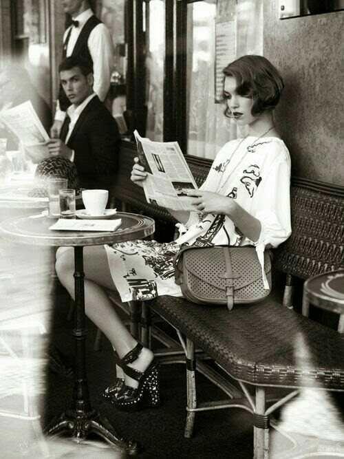 femeie cafea