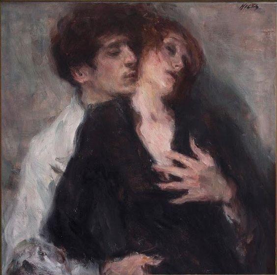 cuplu pictura