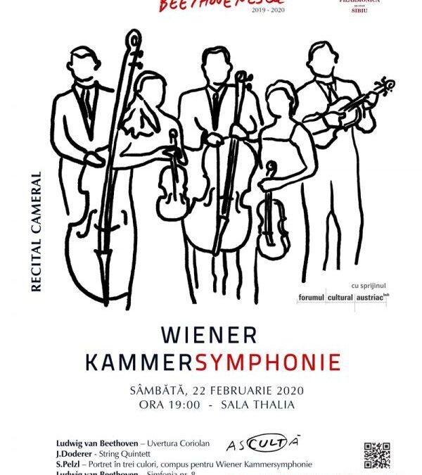 Wiener Kammersymphonie în Stagiunea Beethovenescu la Sibiu