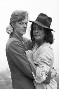 Elizabeth Taylor și David Bowie