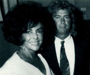 Elizabeth Taylor și Larry Fortensky
