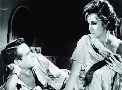 Paul Newman și Geraldine Page. 1962