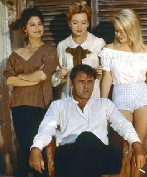 Richard Burton, Ava Gardner, Deborah Kerr și Sue Lyon, 1964