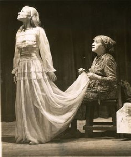 Scenă din producția de pe Broadway, 1945