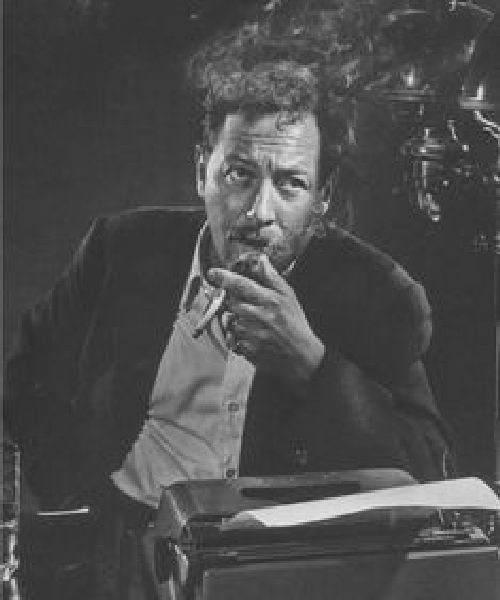 Tennessee Williams. Sursă foto: tumblr.com