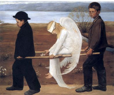 Hugo Simberg_The Wounded Angel_Finland_1903.