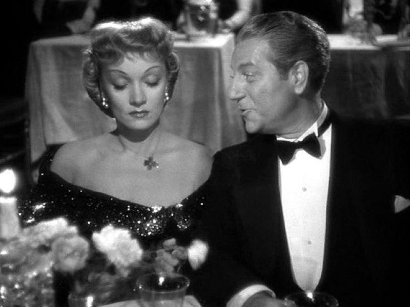 Jean Gabin și Marlene Dietrich in Martin Roumagnac