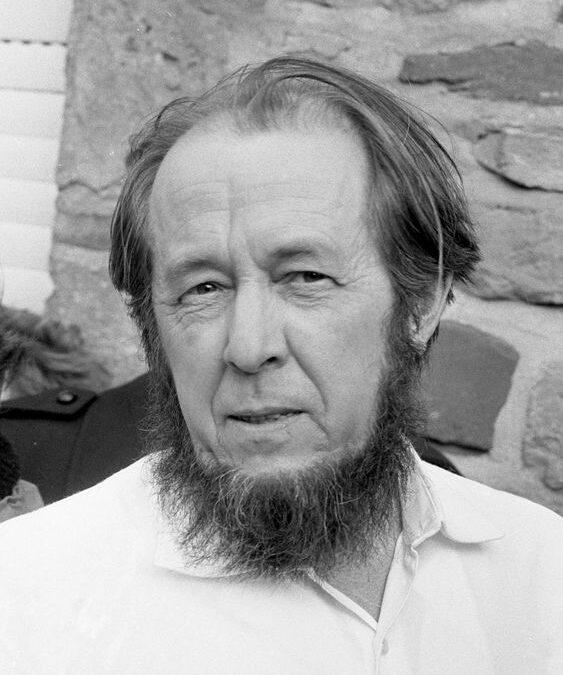 """Aleksandr Soljenițîn: """"Doamne, ce suflete sublime puteau să se ascundă sub înfăţişarea ordinară a unora!"""""""