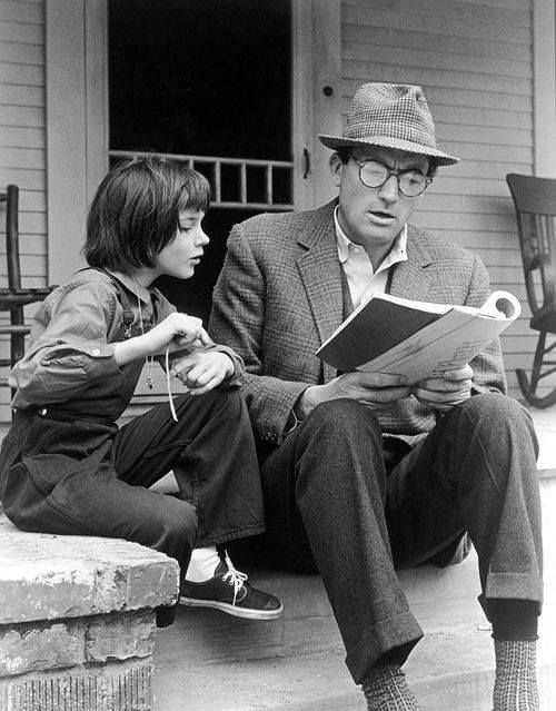Gregory Peck și Mary Badham