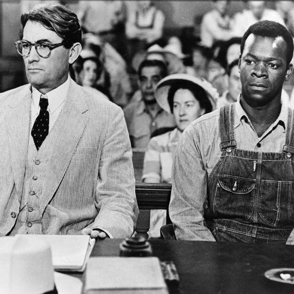 Gregory Peck și Brock Peters