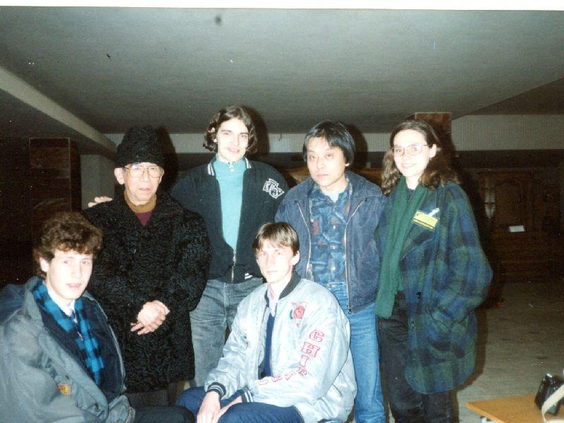 Fotografie din arhiva personală a autoarei. Sibiu 1995