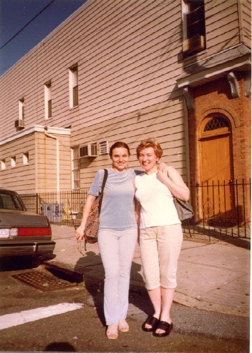 Fotografie din arhiva personală a autoarei. New York 1999