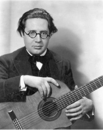 Înainte să se fi născut, a început să cânte la chitară – Andrés Segovia